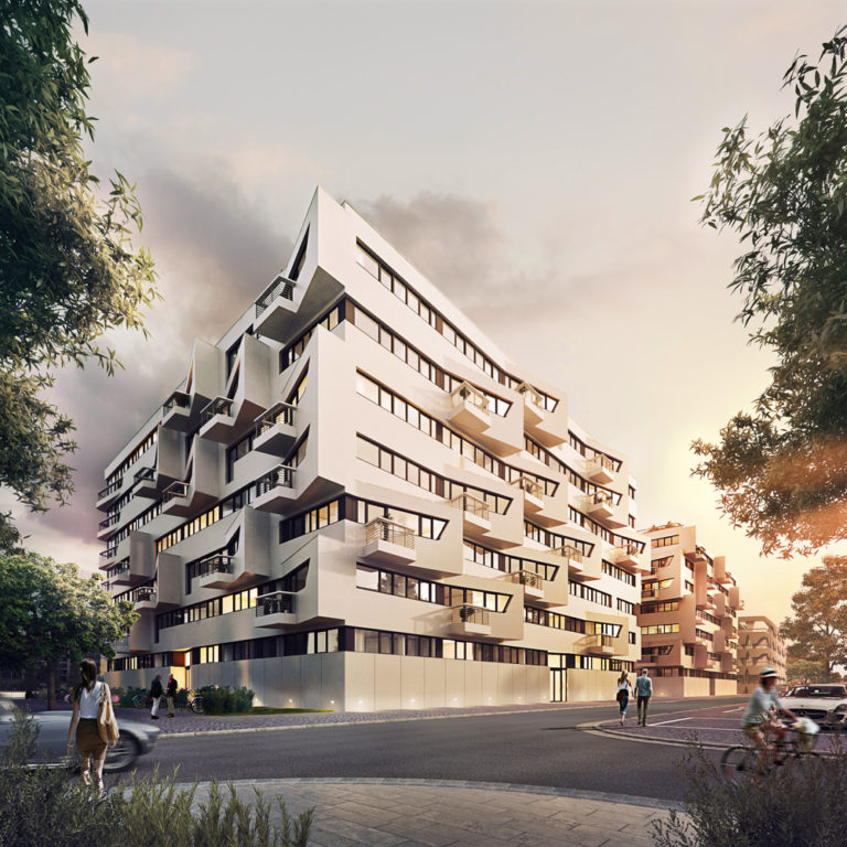 'Wave' – Berlin's New Waterfront Apartment Complex