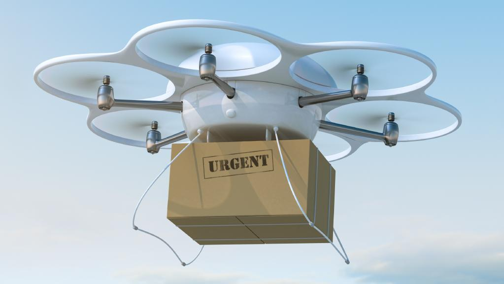 Future Housing Estates:  Drone Landing Pads, Homes Built in Days